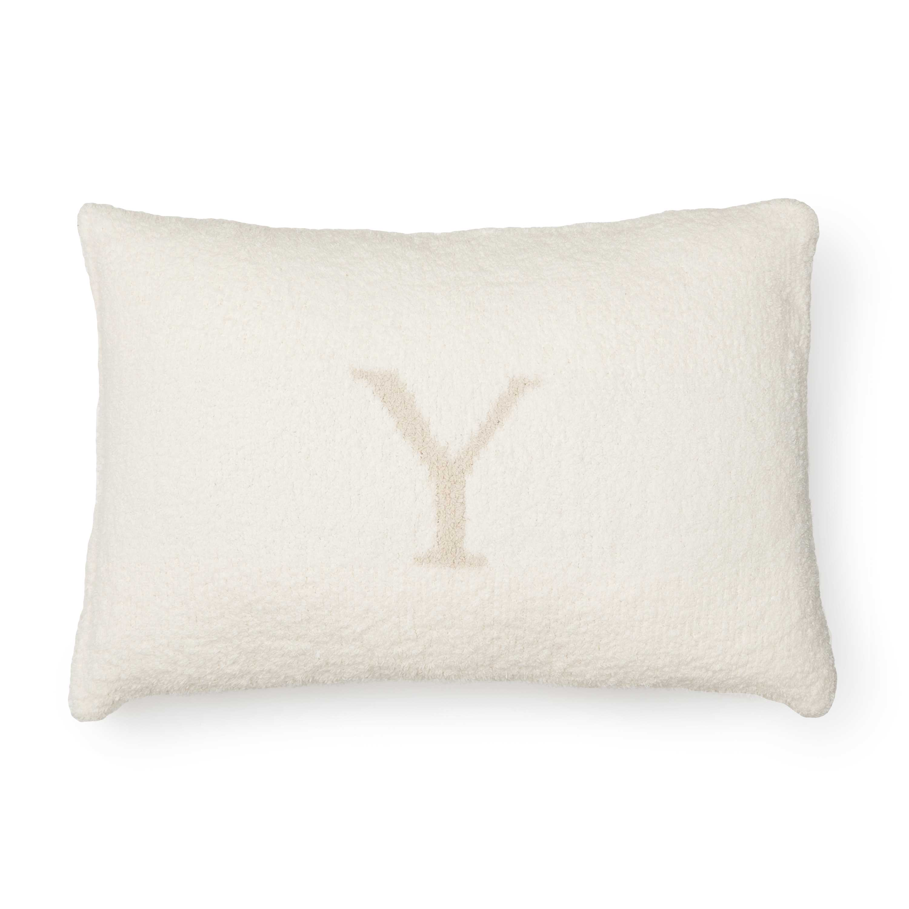 PILLOW CASE/INITIAL