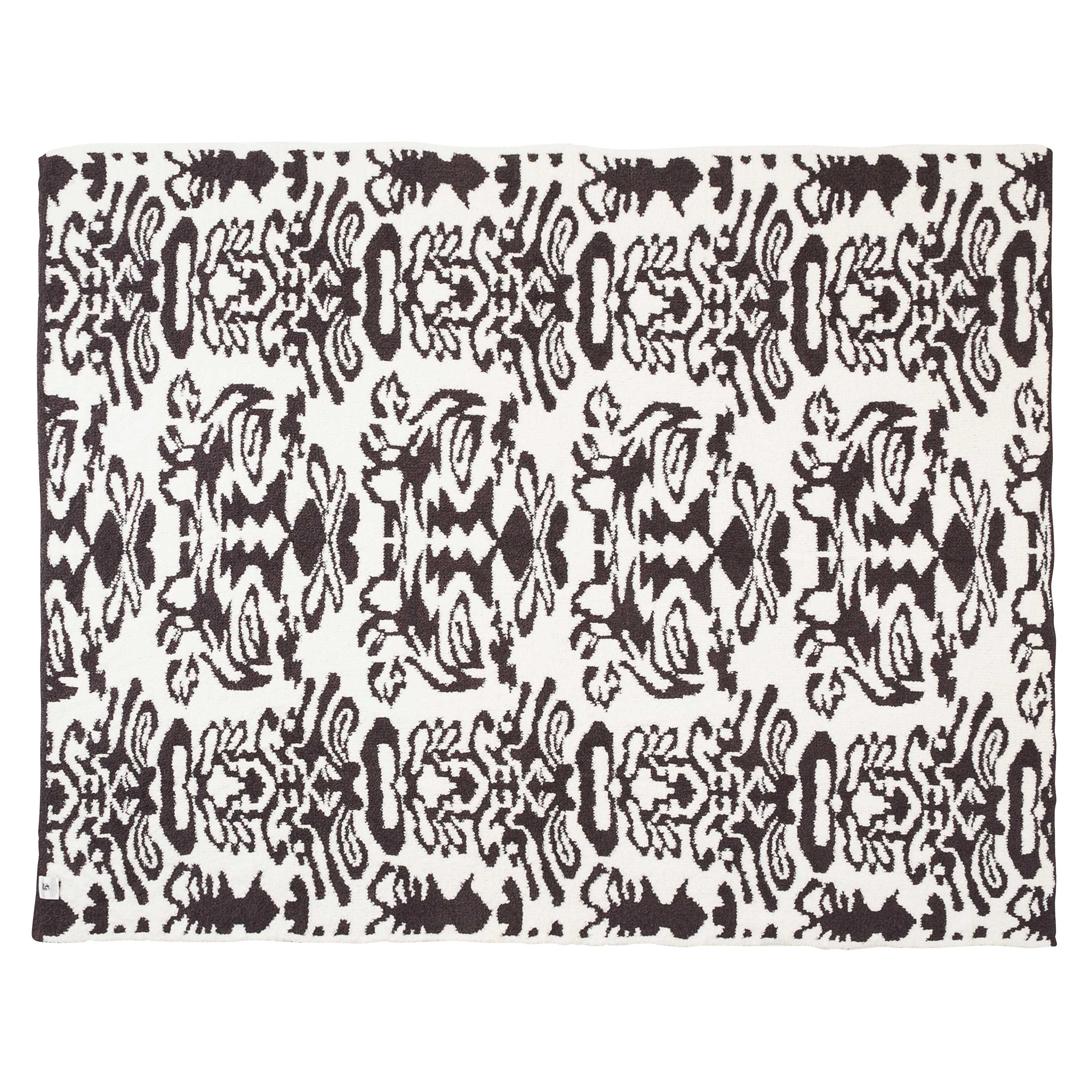 DAMASK TWIN BLANKET