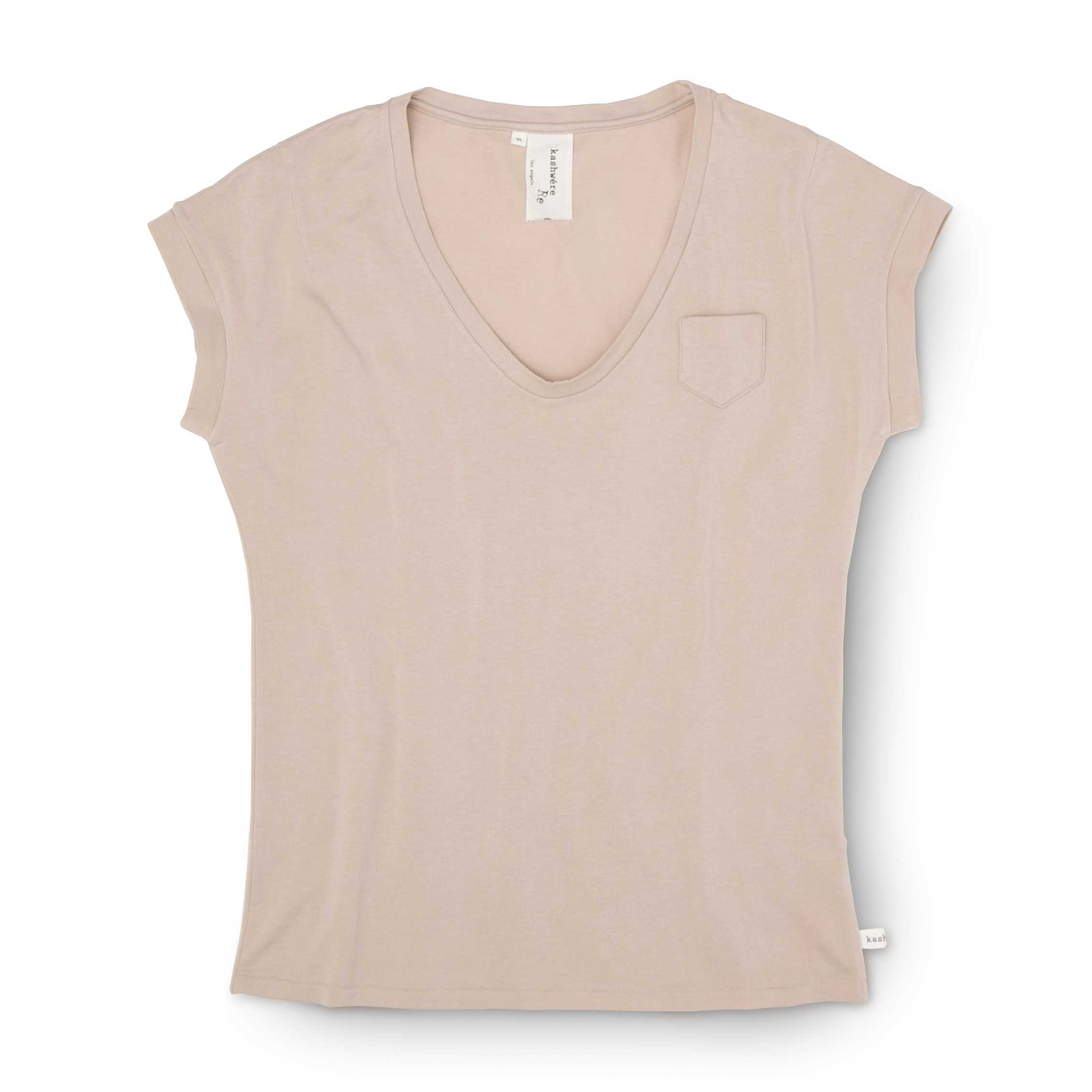 V-NECK T-SHIRTS(LADIES)